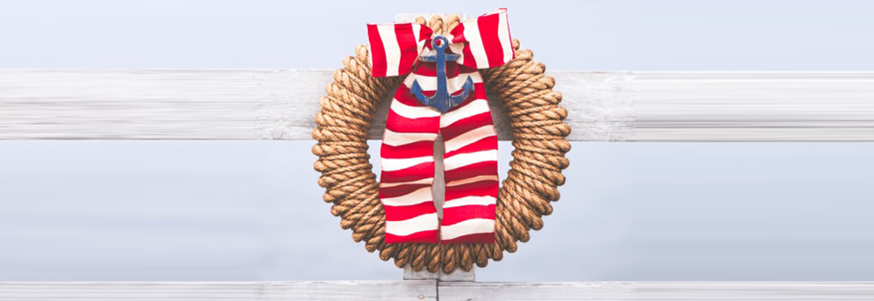 Fourth of July The Hampton Wreath